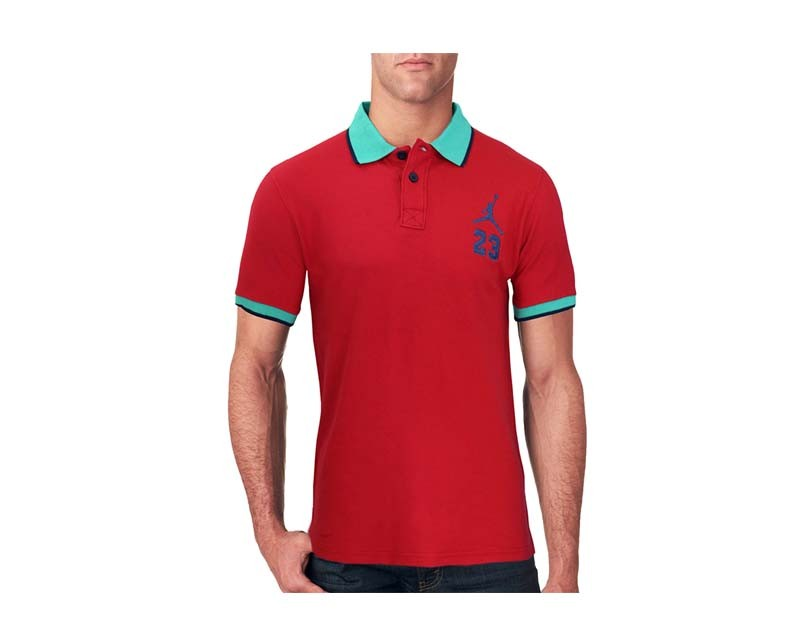 47198a307b41 Specification  Red Color Stylish Design Summer Comfortable Export Quality  Embroidery Logo on Chest Comfortable Casual Wear Aayan Polo T-shirt For Men