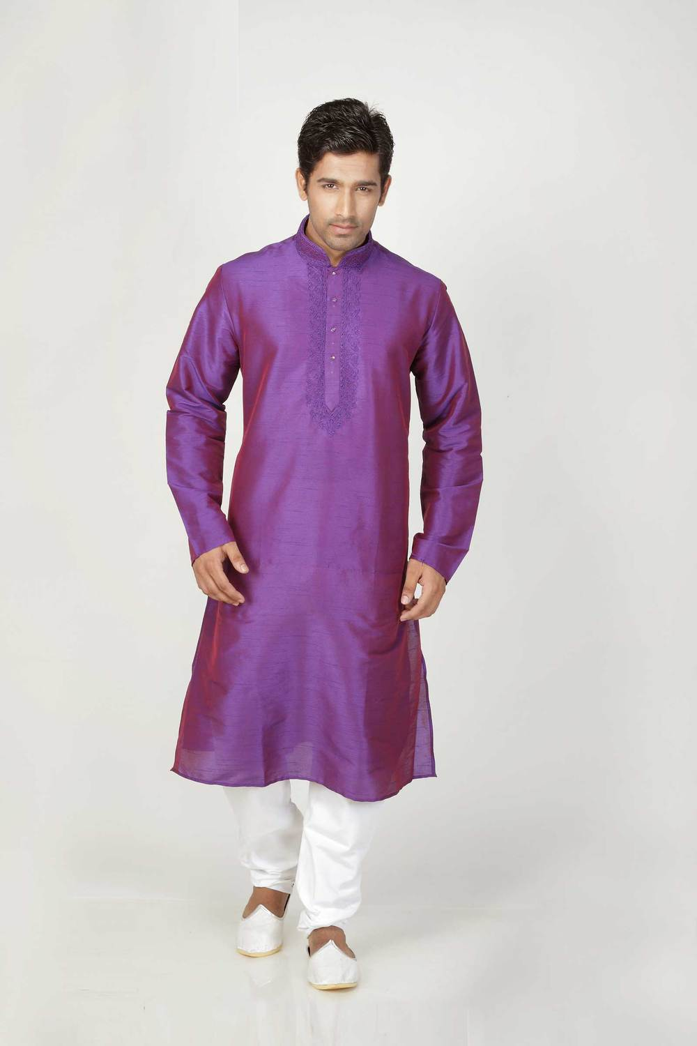 Purple Color Indian Butterfly Cotton Manufacture